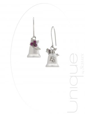 jewel-jewels-jewellery-hand-made-france-paris-unique-gift-idea-xmas-christmas-bells-silver-earrings-ruby-gems-gem-stones