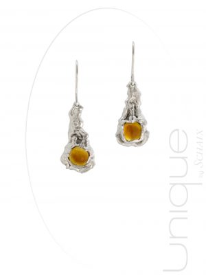 bijou-bijoux-boucles-d-oreilles-collection-barbare-argent-citrine-cognac-fait-main-paris-france-creation-unique-pierres-precieuses