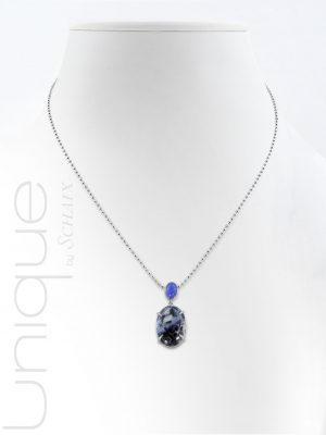 necklace-agate-chalcedony-silver-hand-made