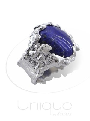 barbare-silver-ring-lapis-lazuli-hand-made-in-paris-unique-jewellery