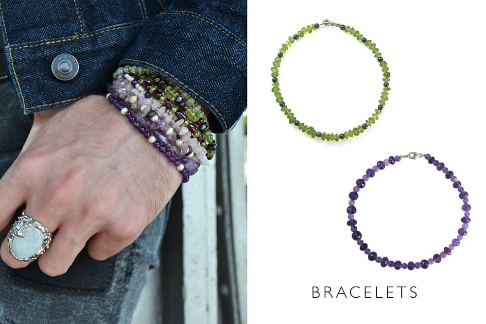 bracelet-bijou-bijoux-fait-main-paris-france-unique-original-multicolor-pierres-fines-argent-homme