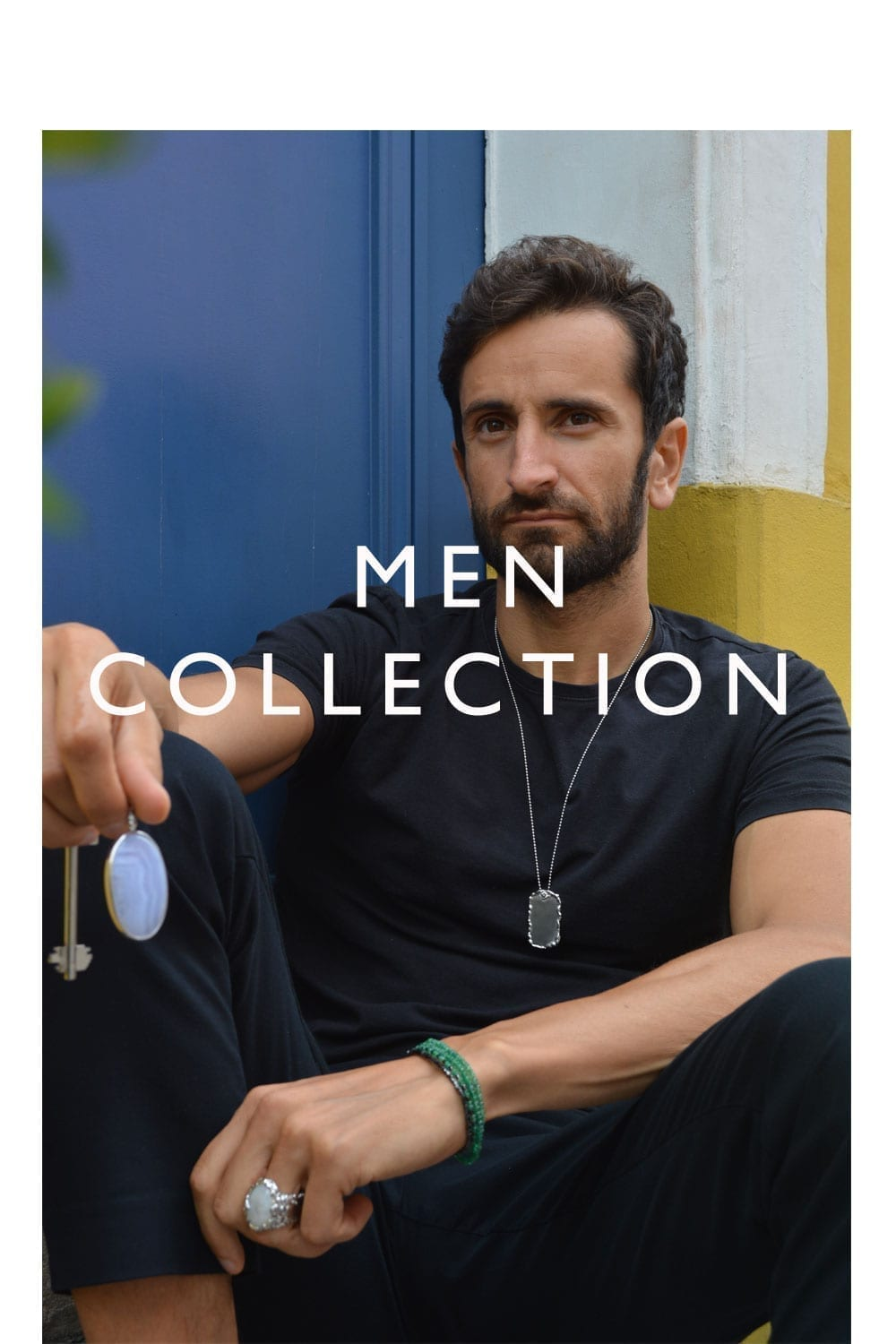 men unique jewelry collection